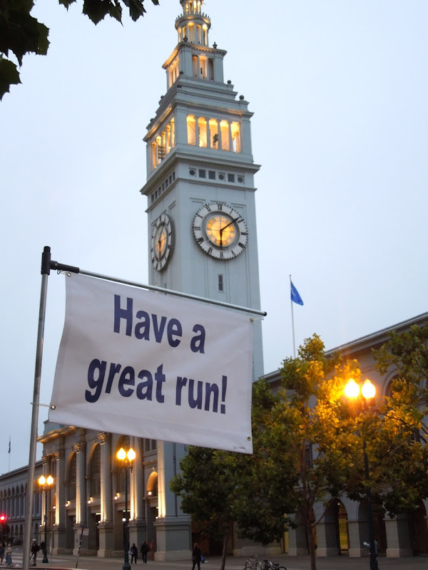 San Francisco Marathon banner