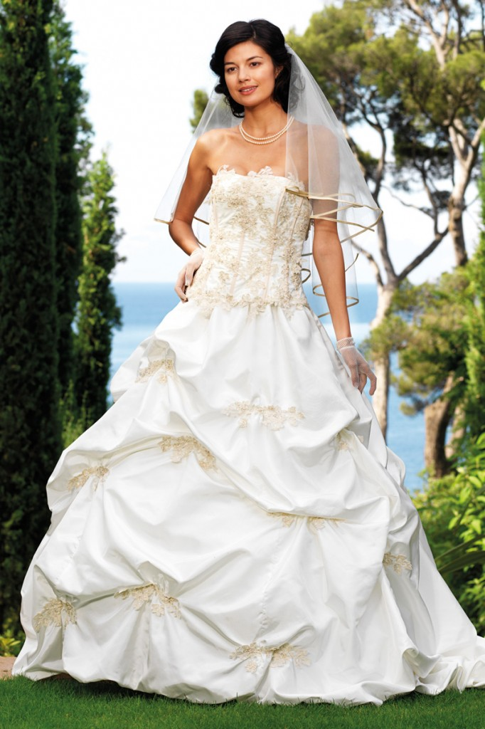 tati mariage robe ivoire - Tatie Mariage Magasin
