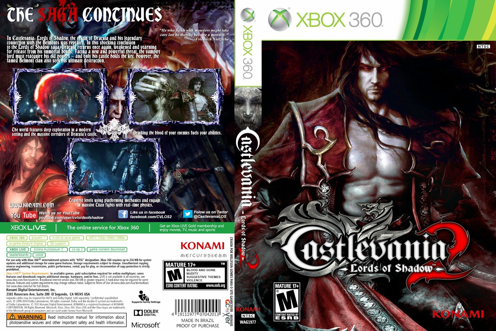 Capa Castlevania Lords Of