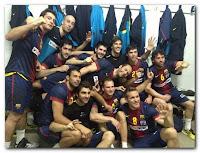 BALONMANO-Tercera liga seguida para el Barcelona