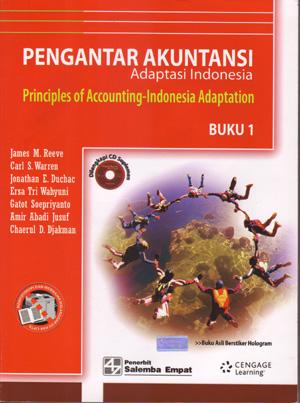 Judul Buku : Pengantar Akuntansi – Adaptasi Indonesia I