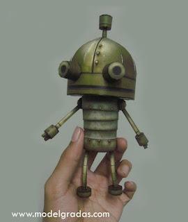 Machinarium Papercraft - Josef the Robot
