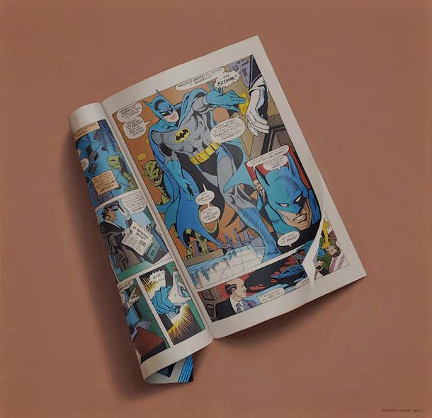 pintura hiper-realista - Sharon Moody