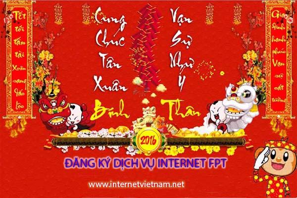 FPT Telecom Khuyến Mãi Cước Phí Thanh Toán Trước Tết 2016
