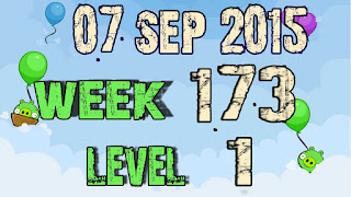 Angry Birds Friends Tournament Week 173 level 1