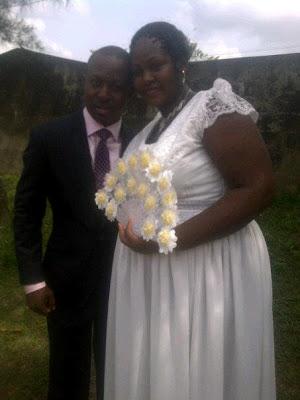 nigerian comedian d'lectura wedding
