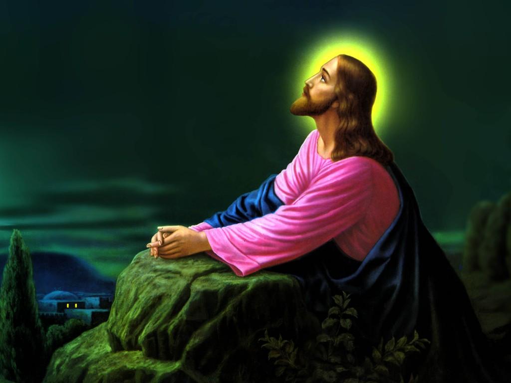 daily catholic devotions image jesus christ prayer print