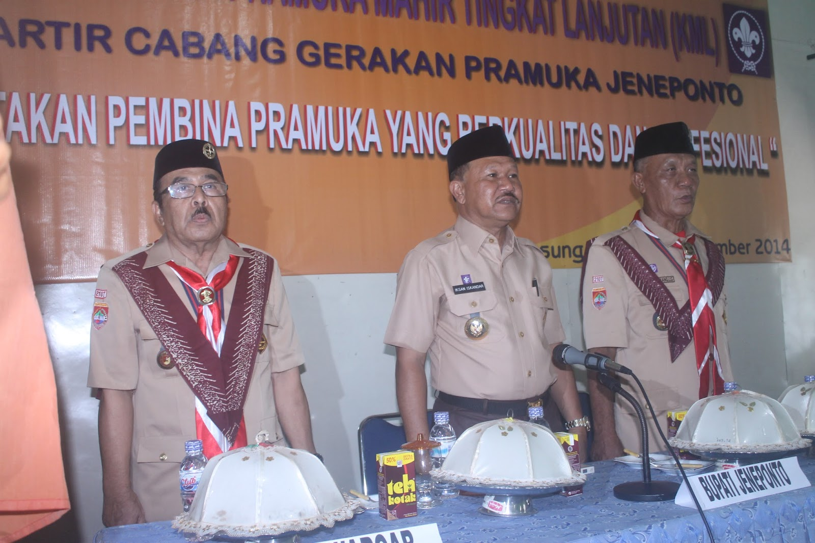 Waduh, Kontigen Pramuka Jeneponto Terpaksa Berutang Untuk Berangkat Ke Cibubur Jawa Barat