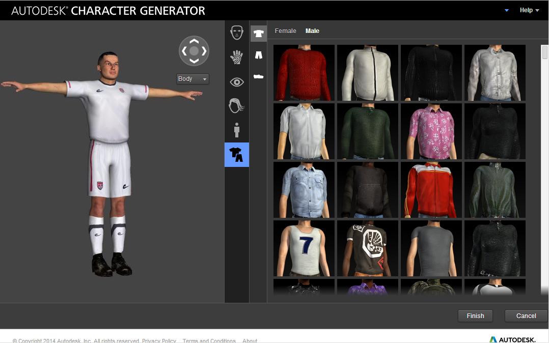 cad studio blog autodesk character generator d ve. Black Bedroom Furniture Sets. Home Design Ideas