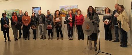 Activitat d'art de l'Associació Cultural d'Artistes Plàstics i Visuals d'Alzira i Comarca