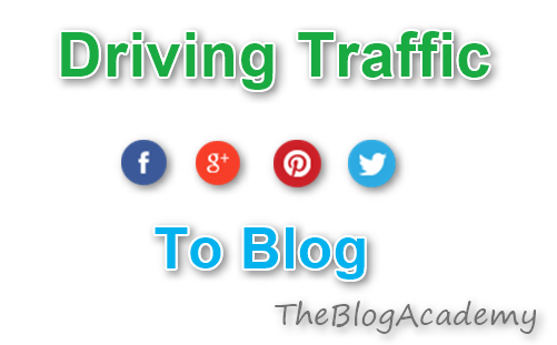Driving Social Media Traffic To Blog