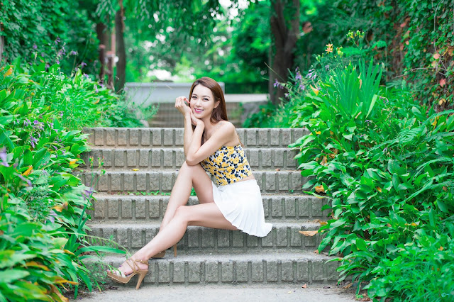 5 Lovely Ju Da Ha In Outdoor Photo Shoot - very cute asian girl-girlcute4u.blogspot.com