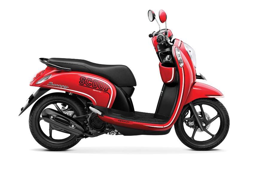 New Honda Scoopy FI Facelift dengan Answerback System . . . harga naik Rp 400.000 saja !