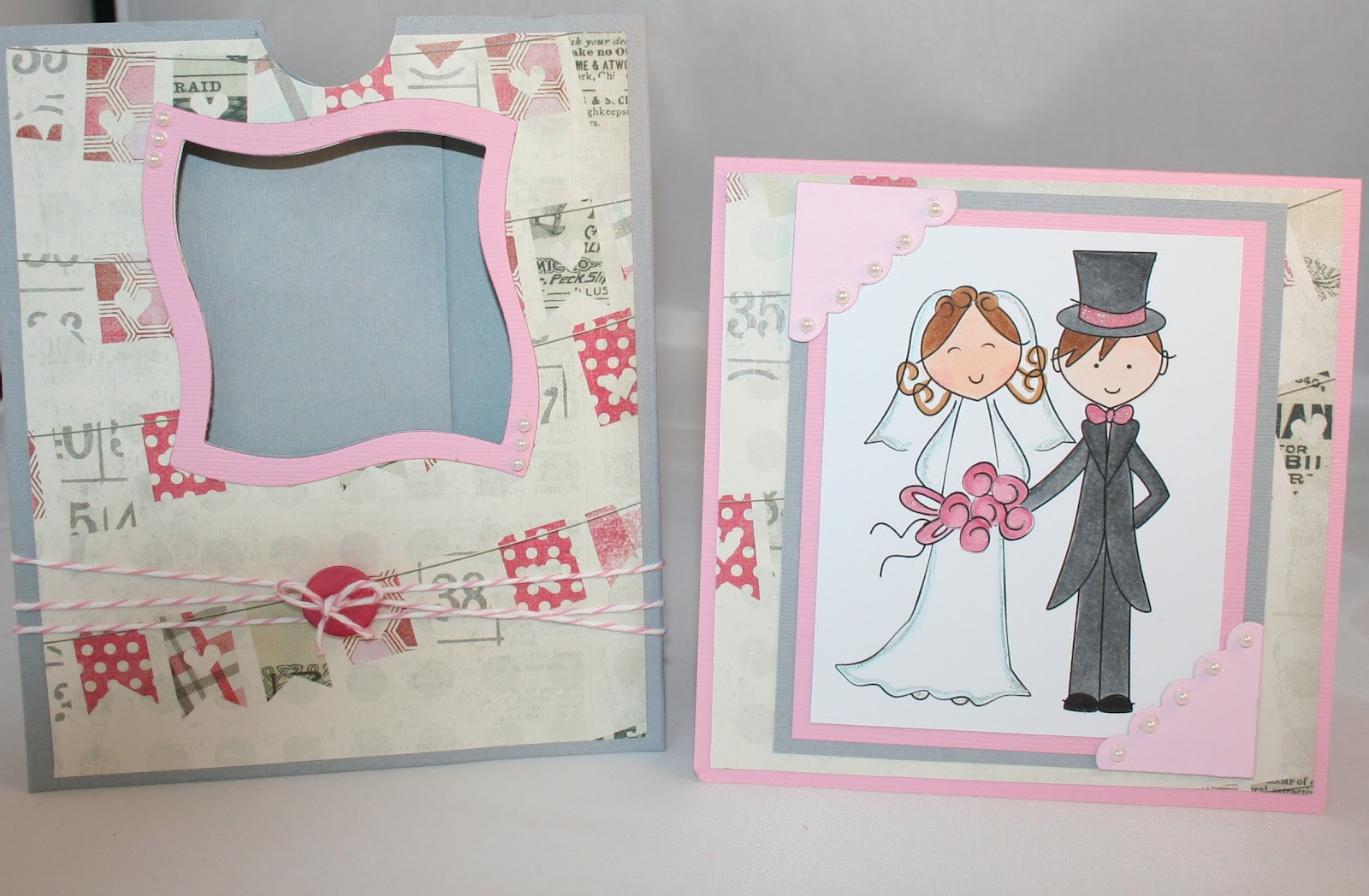 Wedding Shower Gift Card Holders : Angies Originals: Bridal Shower gift card holder