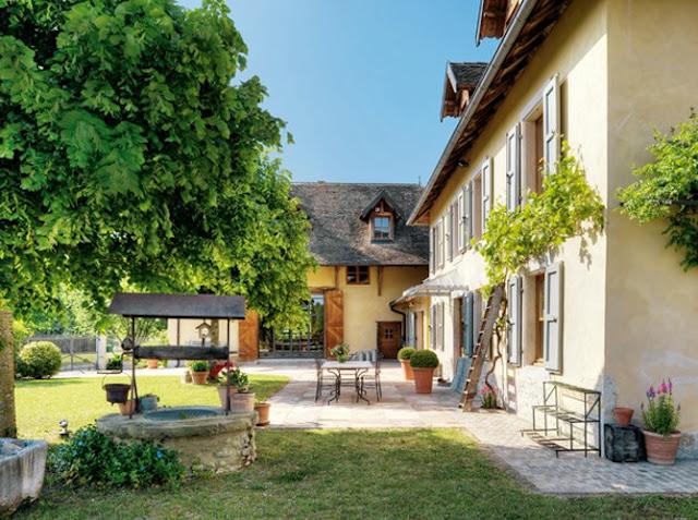 D cor de provence la maison dul lac for A la maison de provence