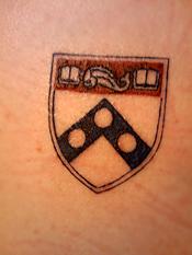 UPenn and tattoo