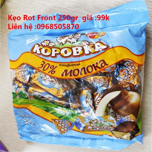 Khuyến mại 25% socola của NGA