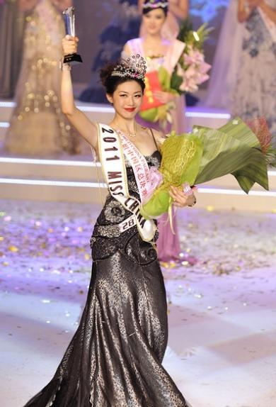China ( ver mais em ASIA ) Liu-Chen-Miss-World-China-2011-2