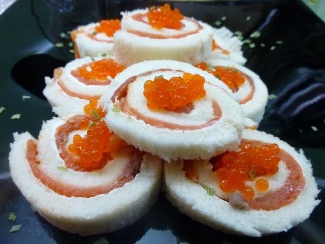 Cookpad recetas aperitivos de navidad r pidos for Canape de salmon