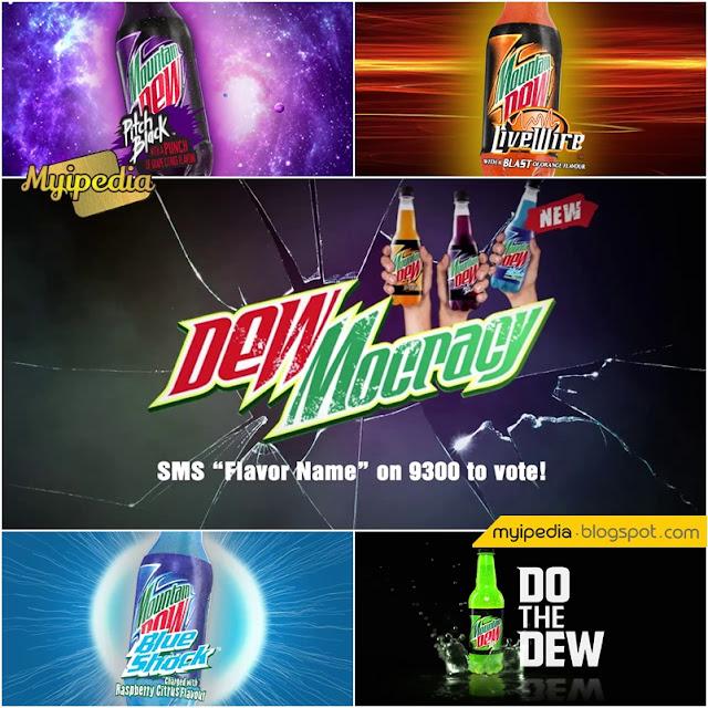 Mountain Dew #Dewmocracy #FlavorBattles TVC 2016 (Video)