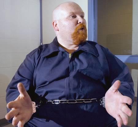 preso executado se diz gordo demais para ser executado, eu adoro morar na internet