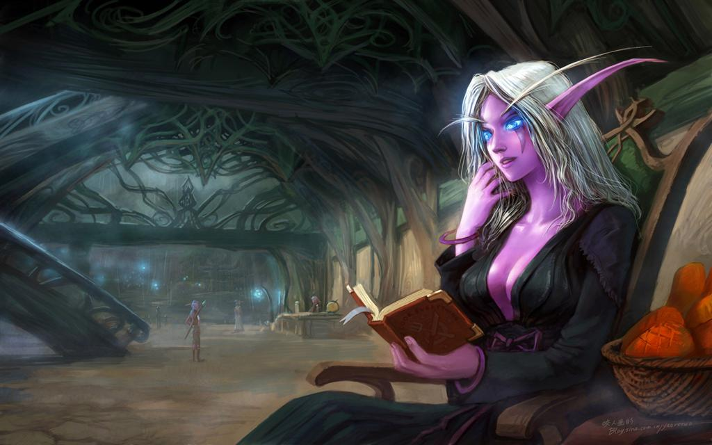 World of Warcraft HD & Widescreen Wallpaper 0.354103122391129