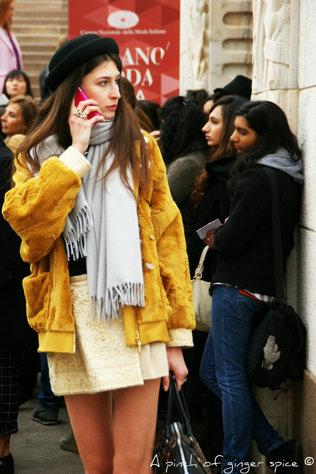 yellow choice milano fashion week 2015