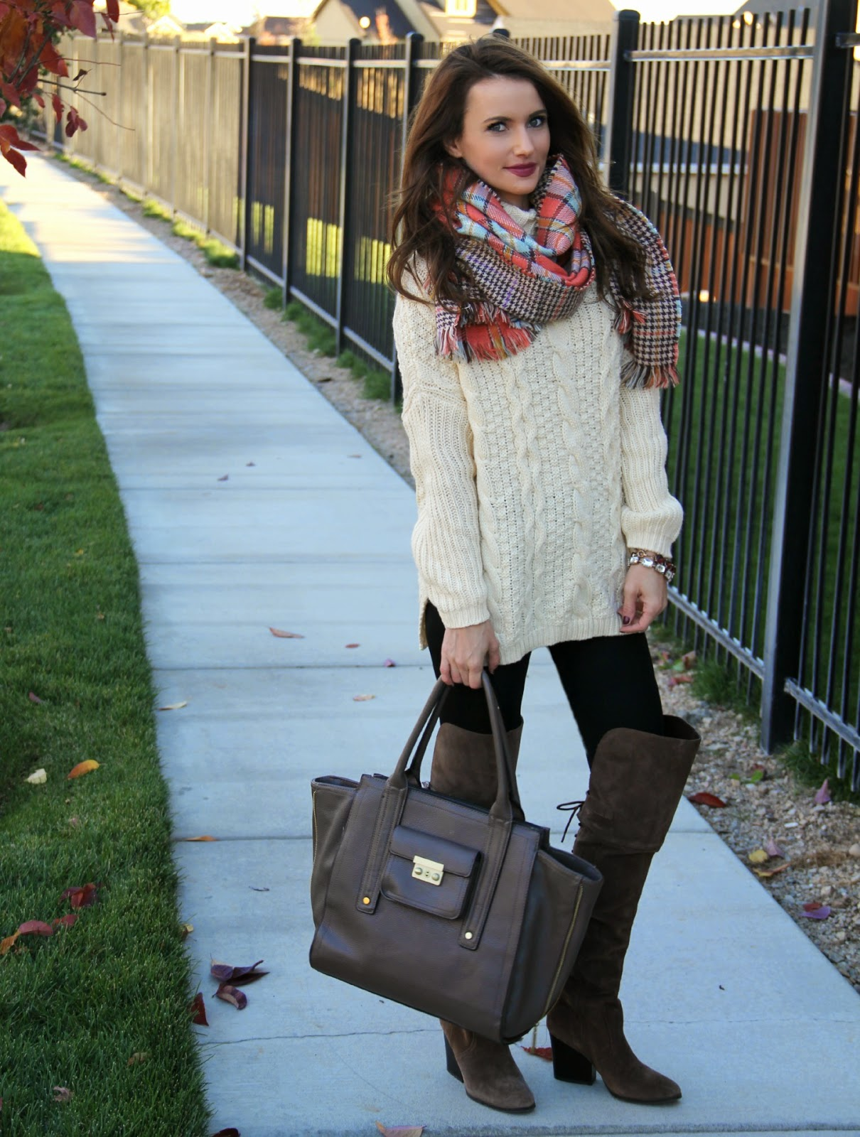 Turtlenecks and blanket scarves featuring Brina Box - Kiss Me Darling