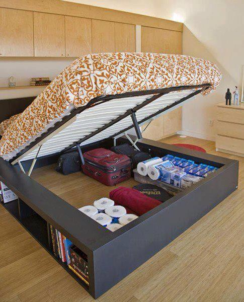 amazing creativity space saver bed