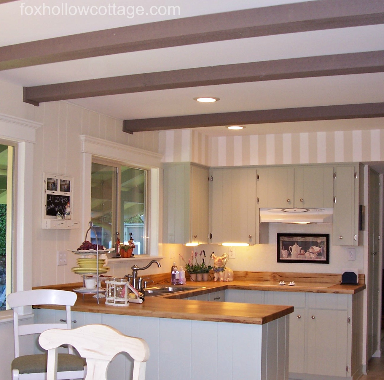 Knotty pine kitchen ceiling my vintage kitchen ideas - I Ve Still Got It Hanging In My Kitchen Today We Had Myrtle Wood Counter Tops At That House Too They Were Custom Made Right In Town And So Beautiful In