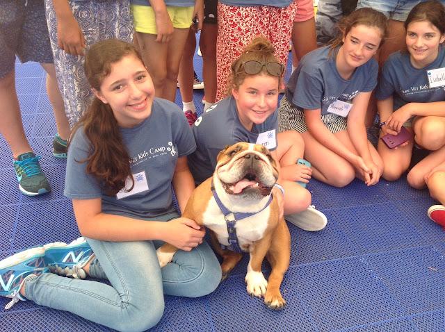 Future-Vet-Kids-Camp-with-Bulldog