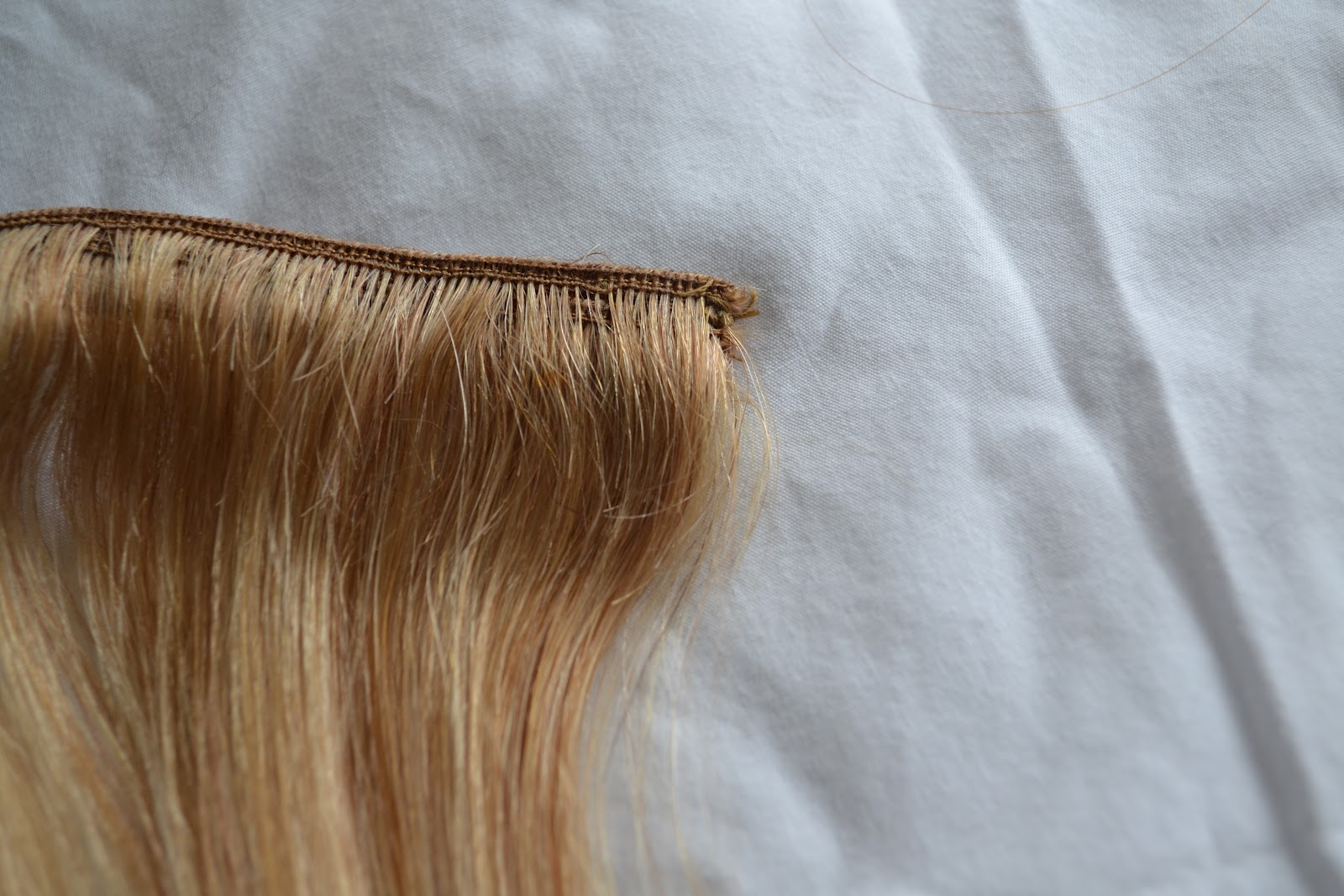 A Noble Beauty Luxy Hair Extension Review 160g 18 Dirty Blonde