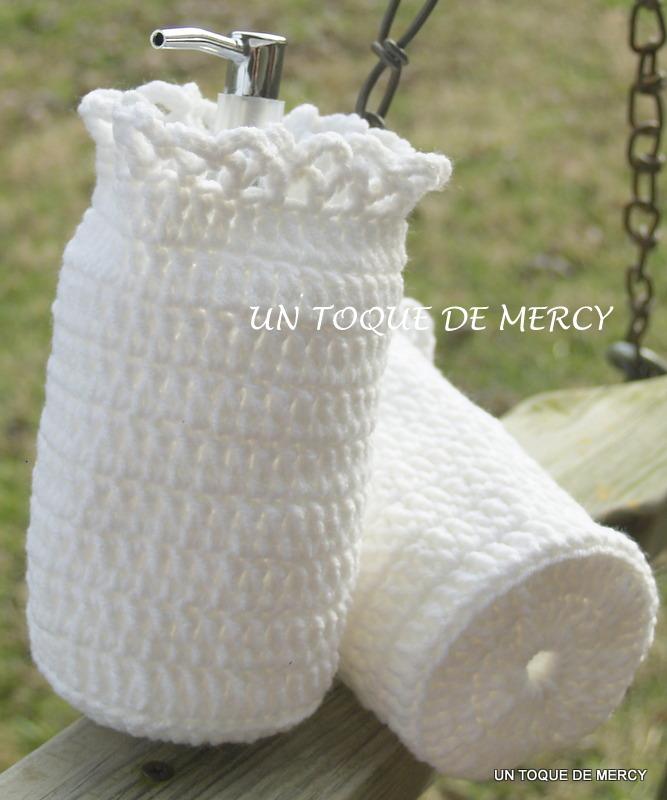 Set De Baño De Crochet:UN TOQUE DE MERCY: SET PARA BANO DE CROCHET