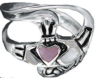 Claddagh Promise Rings Picture