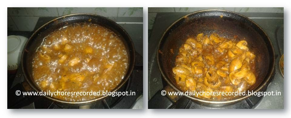 Spicy Mushroom Masala