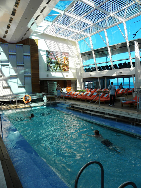 Celebrity Eclipse Indoor swimming pool