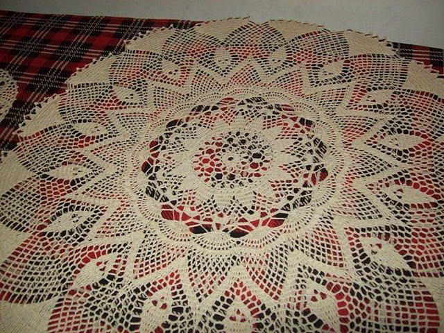Puntos y Retazos: modelos de carpetas en crochet
