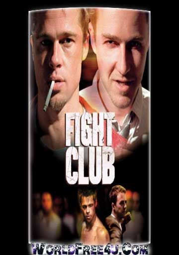 Poster Of Fight Club (1999) Full Movie Hindi Dubbed Free Download Watch Online At worldfree4u.com