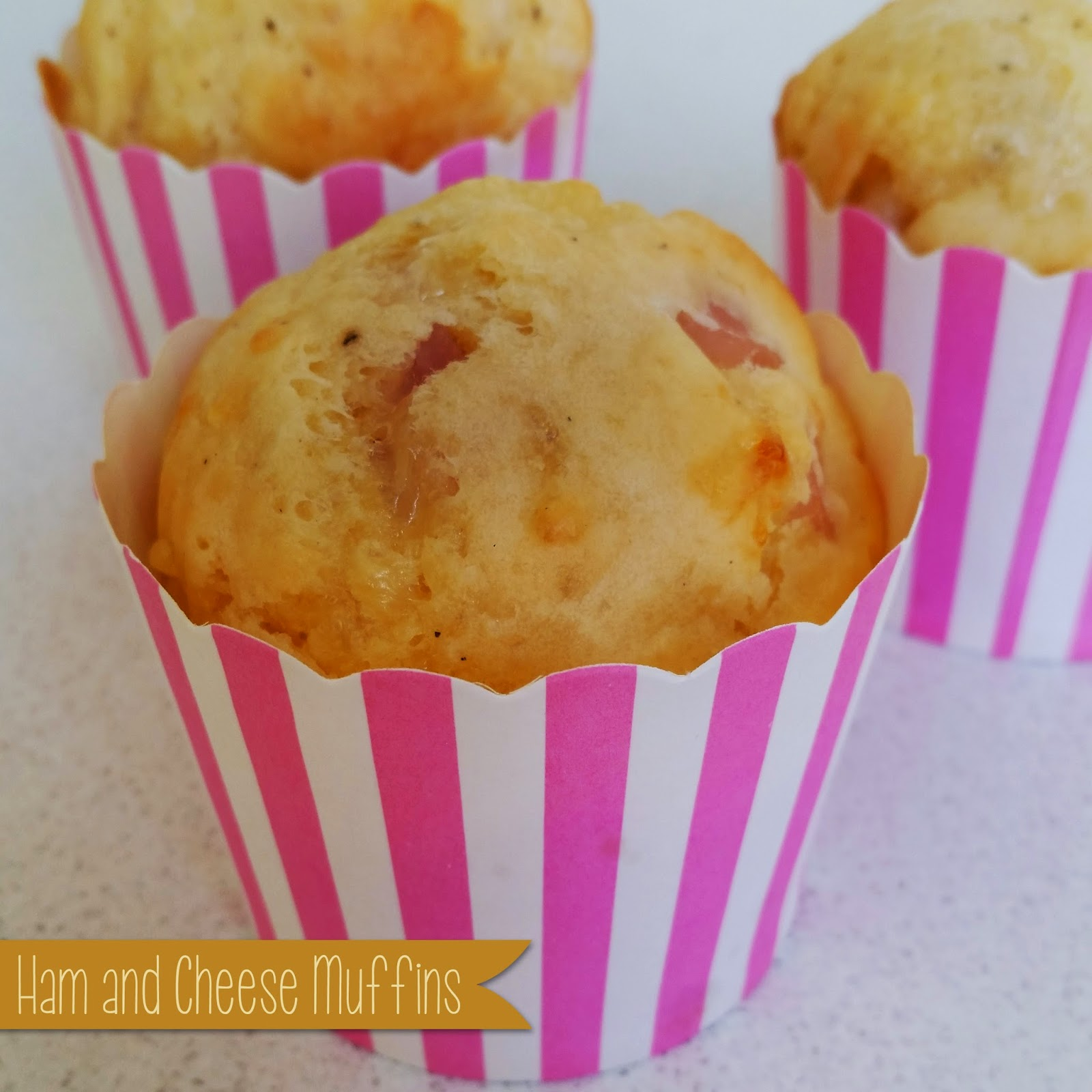 A Little Bit Of Homemade Heaven: Ham and Cheese Muffins