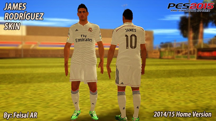 james rodriguez real madrid gta sa