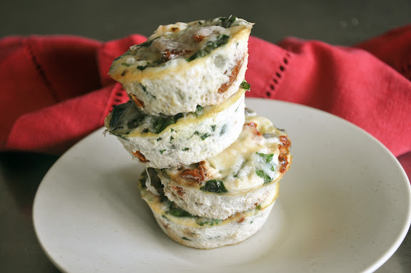Recipe: Mini Italian egg white frittatas