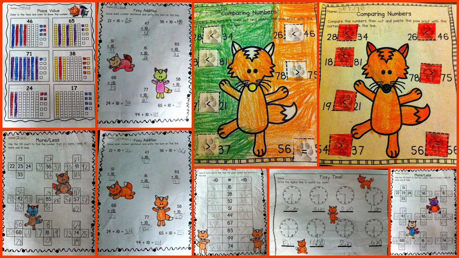 http://www.teacherspayteachers.com/Product/The-Fox-Says-Math-Common-Core-Aligned-Math-Activities-1173686
