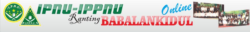 IPNU-IPPNU Babalankidul On Line