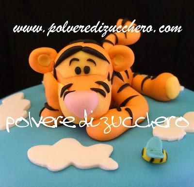 tigro polvere di zucchero