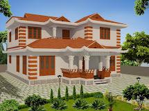 Evens Construction Pvt Kerala Model House Design