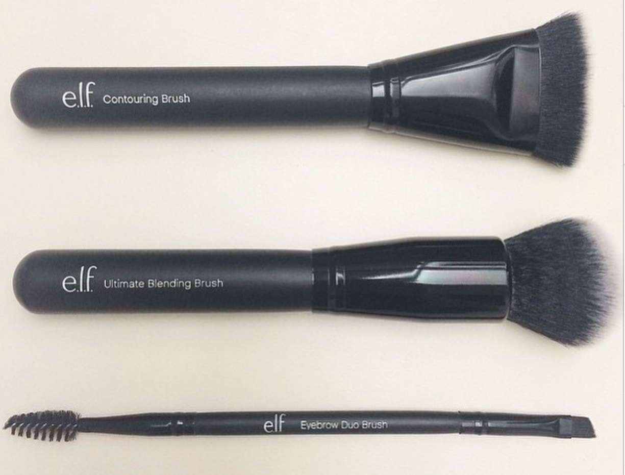 new elf brushes. new e.l.f. makeup brushes now available! new elf