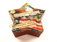 Star shaped prayer box