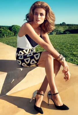moda primavera 2014 H&M mujer falda mini