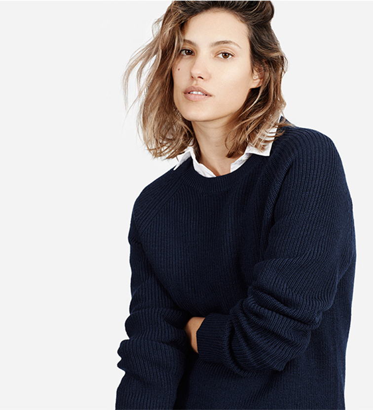 Everlane the chunky knit boyrfriend collection