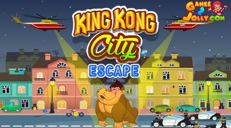 King Kong City Escape Wal…
